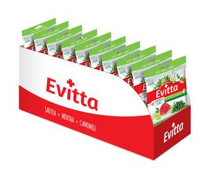 Evitta zielona herbata, arbuz – nadziewane z Vit. C display 20 szt.