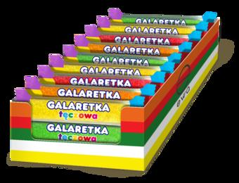 Galaretka tęczowa baton 60 g (display a 24)