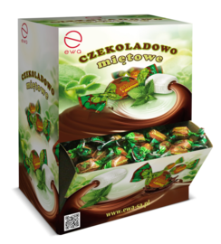 Karmelki Czekoladowo -Miętowe display 2,5 kg